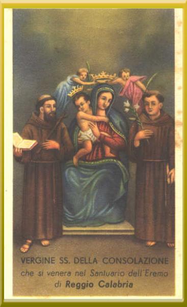 Vergine SS. della Consolazione - Reggio Calabria ...